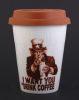 I WANT YOU Coffee-to-go Becher aus Porzellan