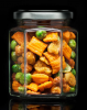 CLUB DELUXE Snack Mix Gourvita Moments 55g Glas
