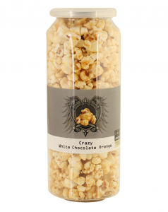 Crazy Popcorn White Chocolate Orange 50g