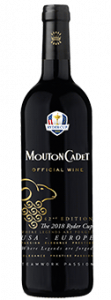 Rothschild Mouton Cadet Rouge - Ryder Cup Edition Baron Philippe de Rothschild, Bordeaux AOC 2016