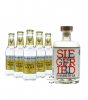 Siegfried Rheinland Dry Gin (41% Vol., 0,5 L) & 5 x Fever-Tree Premium Indian Tonic Water (0,2 L)