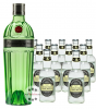 Tanqueray No. 10 Gin (47,3% Vol., 0,7 L) & 11 x Fentimans Tonic Water (0,2 L)
