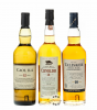Classic Malts: Whisky Collection Coastal Pack (Caol Ila, Clynelish, Talisker) / 43 & 45,8 & 46 % Vol. / 3 x 0,2 L in brauner Geschenk-Box