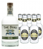 The Duke Munich Dry Gin (45% Vol., 0,7 L) & 5 x Fentimans Tonic Water (0,2 L)