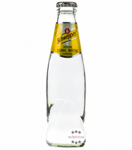 Schweppes Indian Tonic Water / 0 % Vol. / 0,2 Liter-Flasche