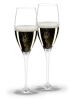 Riedel Champagner Glas 2er Set – Riedel Heart to Heart