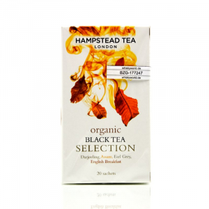 Hampstead Tea BIO Organic Black Tea Selection 20 Teebeutel 40 g