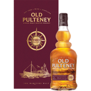 Old Pulteney Vintage Whisky Single Malt Scotch Whisky 46% vol 1983