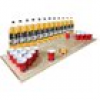 Beer-Pong-Set (12 St. Ides 40oz. (8,2% Vol.) + Spielfeld + 30 Red Cups + 6 Ping-Pong-Bälle)