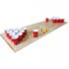 Beer-Pong-Set UD (Spielfeld + 30 Red Cups + 6 Ping-Pong-Bälle)
