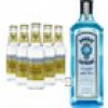 Bombay Sapphire Gin & Fever Tree Premium Indian Tonic Water Set (40 % vol., 2,0 Liter)