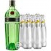 Tanqueray No. 10 Gin & 5 x Schweppes Dry Tonic (47,3 % Vol., 1,7 Liter)