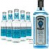 Bombay Sapphire Gin & Fever Tree Mediterranean Tonic Water Set (40 % vol., 2,0 Liter)
