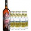 Belsazar Rosé Vermouth + 6 x Fever Tree Indian Tonic Water (17,5 % Vol., 1,95 Liter)