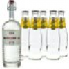 Poli Marconi 46 Gin & Schweppes Indian Tonic Set (46 % vol., 1,7 Liter)