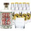Siegfried Rheinland Dry Gin & Thomas Henry Tonic Set (41 % vol., 1,5 Liter)