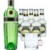 Tanqueray No. 10 Gin & Fentimans Tonic Set (47,3 % vol., 1,7 Liter)
